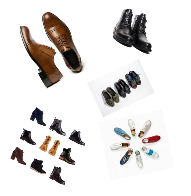 Collections femme, homme, enfant, confort, articles chaussants et accessoires.